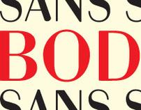 Bodoni Sans Serif