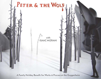 Guggenheim Museum - Invitation to Peter & the Wolf