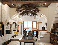Boutique Shop at Santorini