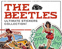 THE BEETLES | Ultimate stickers collection