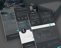 Law Firm Website REDESIGN Concept
