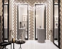 Suede Bathroom