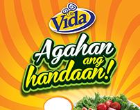 VIDA Almusal Poster Design Studies