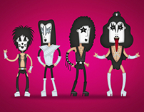 The Rock Dudes ® // Kiss