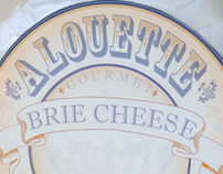 ALOUETTE BRIE CHEESE