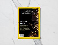 National Geographic Editorial Design