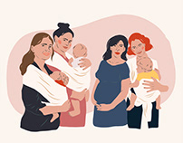 Doula Team illustrations
