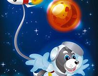 Mural Space Mascot