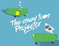 The crazy toon projector