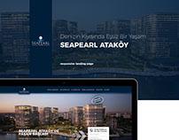 SeaPearl Ataköy Landing Page