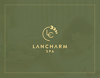 LANCHARM SPA brand identity