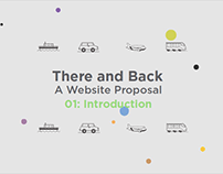 """There and Back"", Presentation for Website Proposal"