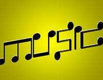 Word Art / Music.