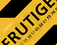 Typography - Frutiger
