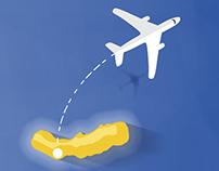Azores Infographics - Ryanair