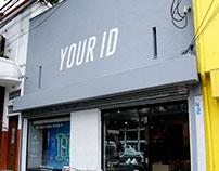 Identidade visual para as lojas Your ID
