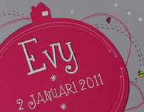 Birth Announcement | Evy