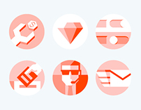 Hello Social Icon Set