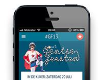 Gentse Feesten App Android / iPhone