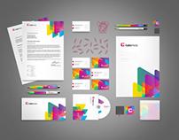 Cubic Media corporate identity