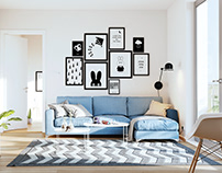 Norwegian apartment visualization