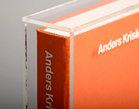 Anders Krisár - Book design