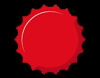 Coca-Cola/Sprite graphic elements