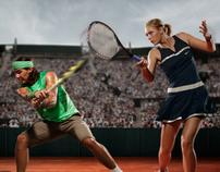 Nike Tennis Micro Site