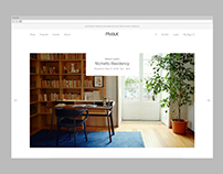 Mjölk E-Commerce Website