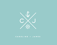 NAUTICAL WEDDING :: INVITATION + STATIONARY