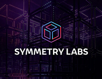 SYMMETRY LABS Logo Design