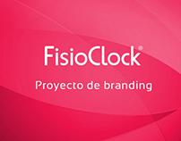 Branding, Proyecto de imagen corporativa FisioClock
