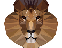 Polygon Lion 1