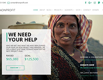 We need Your Help Banner - Nonprofit WordPress Theme