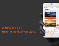 New mobile app for one hand navigation