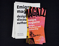 Emigre magazine: design, discourse and authorship