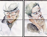 daily metro sketches /2012-2013
