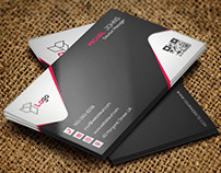 Business Card Design (Free PSD Template)