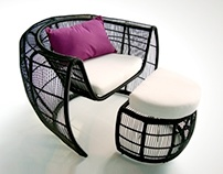 Ovvio Italia - Furniture designs | Armchair and Table