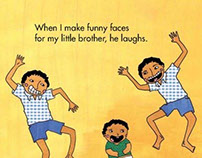 My Little Brother, an illustrated book for children