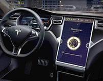Interface Tablette - Tesla Modèle S