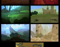 environment sketches