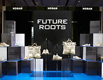 Tods Group - HOGAN - window display FUTURE ROOTS event