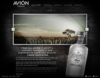 Tequila Avion Site Design
