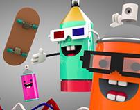 Prueba de animacion y modelado 3D