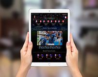 World Cup Fan Stream UI