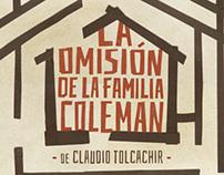 La omisión de la familia Coleman / Afiche de teatro.