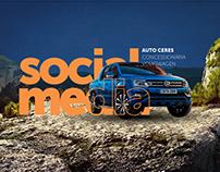 Social Media - Auto Ceres Volkswagem