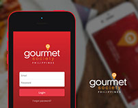 Gourmet Society PH - Mobile App