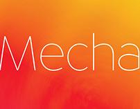 Mecha (Font Design)